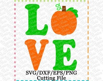 EXCLUSIVE SVG EPS dxf Pumpkin Love Cutting File, pumpkin cut file, thanksgiving svg, autumn svg, fall svg, pumpkin love svg cut file