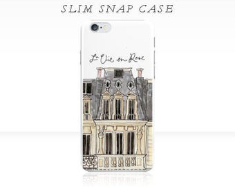 Parisian Flat - iPhone 6 iPhone 7 Case {iPhone 6s, iPhone 6 Plus, iPhone 5, iPhone 5c}