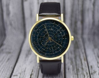 Constellation Watch | Astrology Watch | Zodiac | Space Watch | Ladies Watch | Men's Watch | Birthday | Wedding | Gift Ideas | Accessories