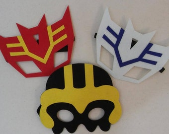 Transformers Party Favor Masks _ Transformers Birthday Party Costume