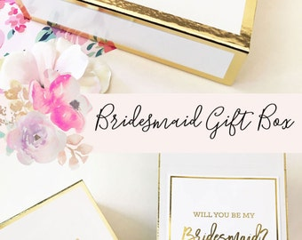Bridesmaid gift box | Etsy