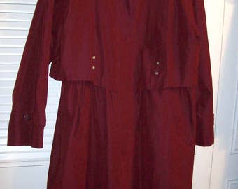 Vintage Fleet Street Trench Coat THE ULTIMATE TRENCHCOAT!!! Maxi, Lined, Zips Out, Back Cape, Size 12 see details