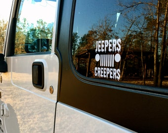 Jeepers Creepers Vinyl Decal