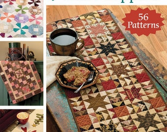 The Big Book of Table Toppers; B1405; 56 Patterns; That Patchwork Place; Pattern Book; Table Runner Pattern; Sewing, Quilt