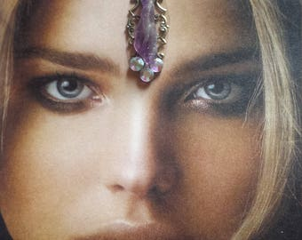 Goddess of Love~Amethyst Stone Bindi