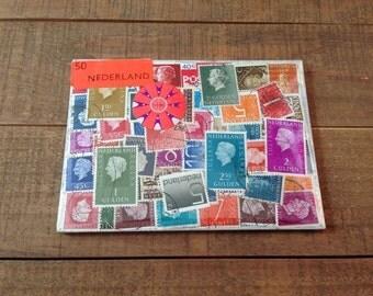 Netherlands Stamps Art, Stamp Art, Nederland, Netherlands Stamps, European Stamp, Stamp Collection, Netherlands Stamps