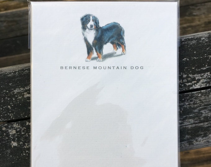 Bernese Mountain Dog Note Card Set
