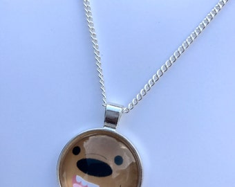 We Bare Bears Inspired Fan-Made Grizzly Necklace
