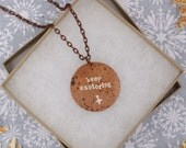 Keep Exploring Compass Explorer Travel Themed Gifts Meaningful Gifts Encouragement Inspirational Copper  Gift Under 30
