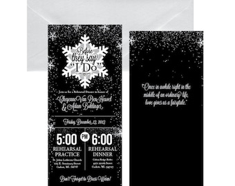 Wedding Rehearsal Dinner Invitation #28