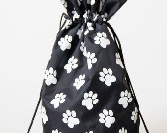 Drawstring Paw Bag for Dog Food