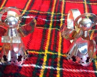 Angel napkin rings