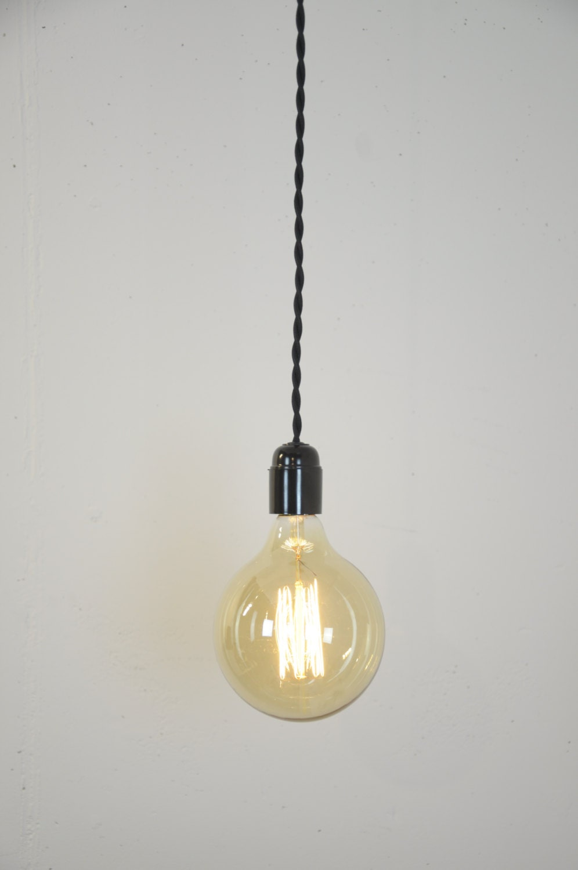 Hanging Pendant Light Cord Kit : Hanging light bulb cord kit edison pendant lighting