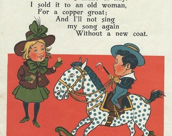 mother goose rhymes 1905  sing a song of sixpence download