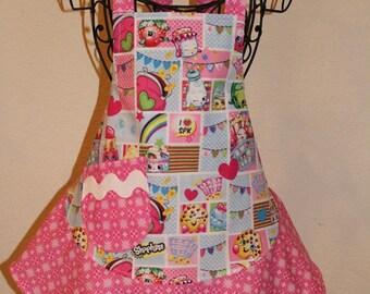 Child's Girls Small Shopkins Apron