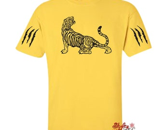Tiger and Claw Marks Shirt