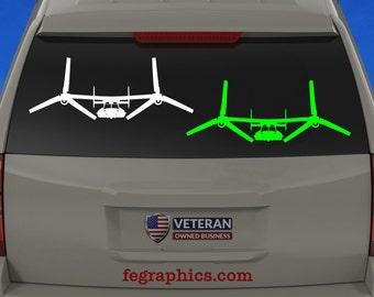 "CV-22 / MV-22 Osprey - ""APLN Mode"" - Vinyl Decal / Sticker"