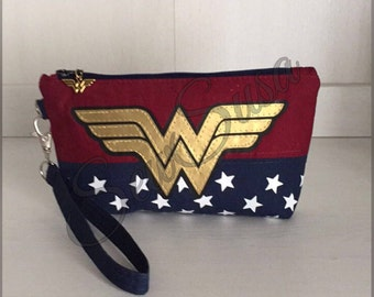 The Wonder Woman and Diana Wristlet