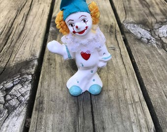 Creepy Clown Statue Figurine