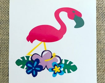 Flamingo decal, Flamingo, Flamingo vinyl decal,Flamingos, Flamingo laptop decal, flamingo phone decal, flamingo car decal