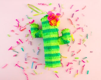"15"" Cactus Piñata, Cinco de Mayo, Mexican Fiesta Decorations, Cactus Decoration, Fiesta Birthday, Bachelorette Party, Listing for 1 Piñata"