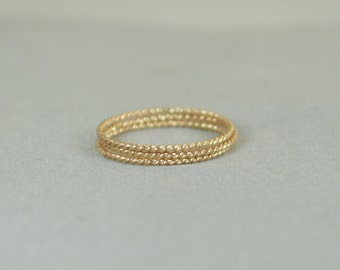 Gold Spiral Rings, 14k Gold Filled Ring, Stacking Ring, Boho Stacking Rings, Unique Dainty Rings, Dainty Gold Rings, Thin Dainty Ring, Alari