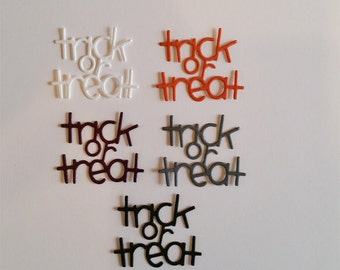 Trick or Treat Die Cuts