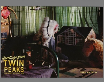 Twin Peaks Gold Box Postcard Card # 49 of 61 Audrey Horne's Brother