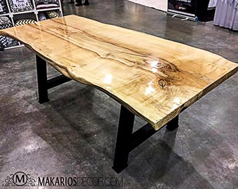 reclaimed wood table | etsy