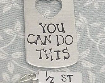 Weight Loss Keyring - You Can Do This - With 4 free Weight Loss Charms!