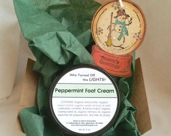 Gift - Peppermint Foot Cream