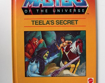 Masters of the Universe Teela's Secret 1985