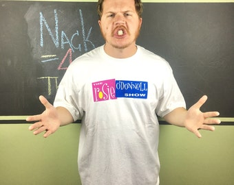 Vintage 1996 The Rosie O'Donnell Show TV Show XL Delta T-Shirt