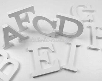 3D wooden letters