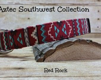 Native Dog Collar, Aztec Dog Collar, Navajo Dog Collar, Tribal Dog Collar, Southwest Dog Collar, Rustic Dog Collar, Pet Collar, New Pet Gift