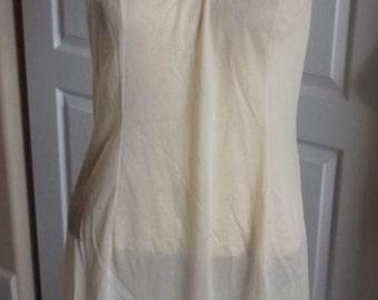 SALE Vintage Vanity Fair Full Slip Dress Extender Made in the USA