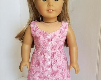 """Summer dress for 18"""" doll"""