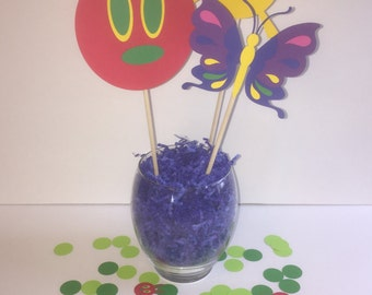 The Very Hungry Caterpillar Birthday Party Centerpiece