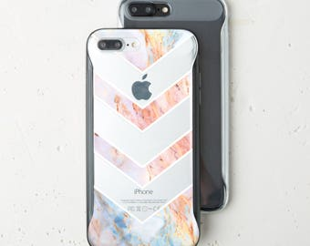 Pink Marble Bumper Case iPhone 7 Marble Phone Case Stone Case iPhone X Case Bumper iPhone Case 7 iPhone 8 Case iPhone 6 Plus Case WC1521