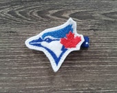 Blue Jays Feltie Hair Clip, Toronto Blue Jays Hair Clip for Baby, Baseball Hair Clip, Jays Accessories