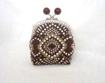 Coin purse/ Fabric purse/ Retro fabric purse/ Cute coin purse/ Girl purse/ Woman purse/ Clasp purse/ Handmade purse/ Girl gift