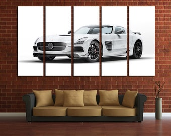 Mercedes GT Mercedes Canvas AMG Wall Decor AMG Wall Art Sport Car Print Mercedes Poster Mercedes Wall Decor Mercedes Wall Decor Top Gear