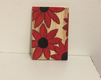Red Daisy Art