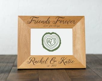 Gift for Friends, Friends Forever Picture Frame, Best Friend Birthday Gift, Love you Always, BFFs, Besties, Friendship Gifts, Best Friends