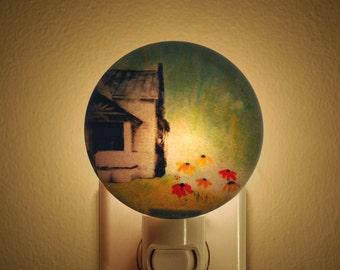 Night Light - Roadside Flowers