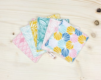 Washable wipes square