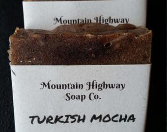 Turkish Mocha - goat milk soap