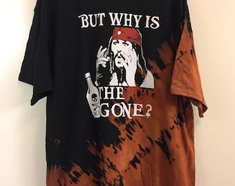 Bleached Jack Sparrow T-shirt