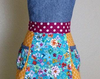 Madam Gypsy Apron, Women's full apron - Laneymade
