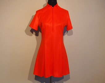 Vintage 1970's Mini Dress from London, England